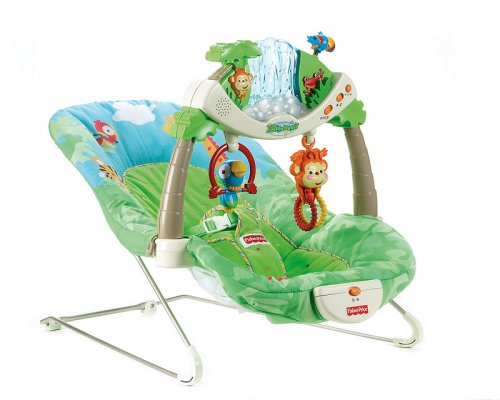 Fisher-Price Baby Gear Rainforest Wippe
